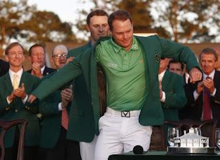 GOLF - Danny Willett se pone la Chaqueta Verde del Masters de Augusta