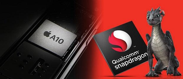 Prosesor Snapdragon 821 vs. Apple A10 Fusion, Mana Prosesor yang Paling Cepat ?