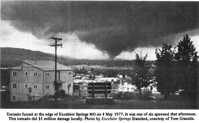 Capt  Spaulding's World: May 4, 1977 - Day of the Twisters