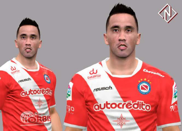 Lucas Barrios Face PES 2017