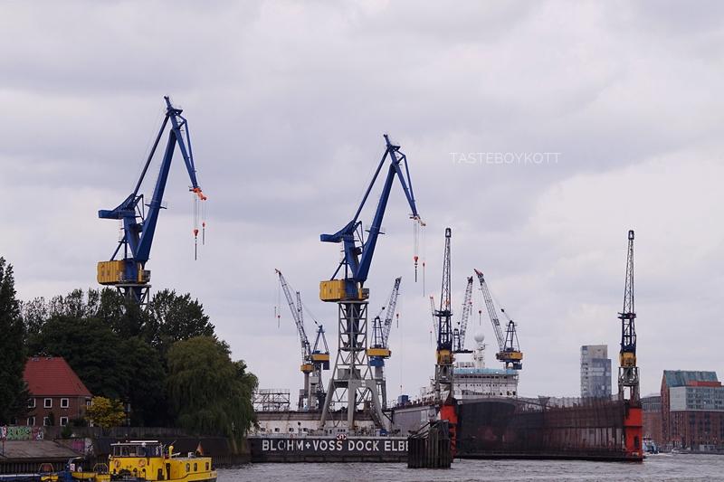 Hamburger Hafen Hafenrundfahrt Stadt Sommer