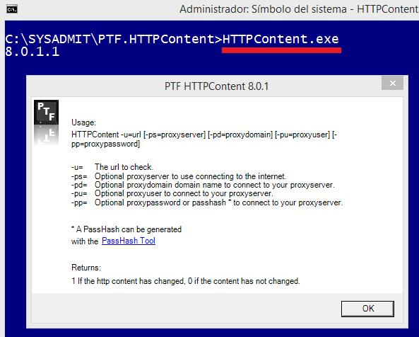 PRTG: Monitorizar si una web ha cambiado