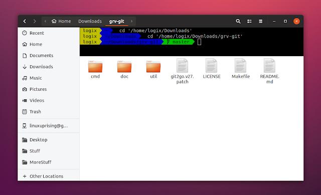 Nautilus Terminal 3 in Ubuntu 18.04