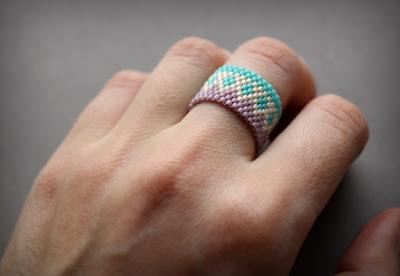 купить украшения ручной работы в интернет магазине бисерные колечки