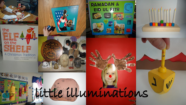 "Multi-Cultural Holiday Experiences via Little Illuminations at ""PreK+K Sharing"""