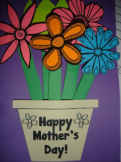 Preschool Crafts For Kids Mother S Day Printable Flower