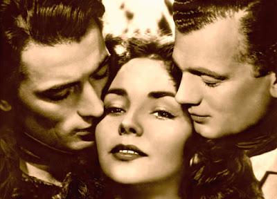 "Foto promocional de ""Duelo al sol"" (1946)."