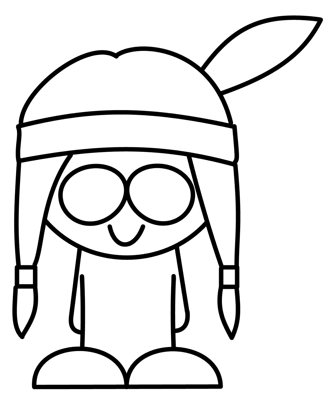How To Draw Cartoons: American Indian
