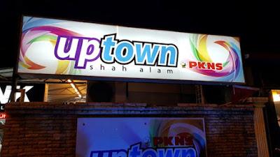 Tempat menarik di selangor waktu malam uptown
