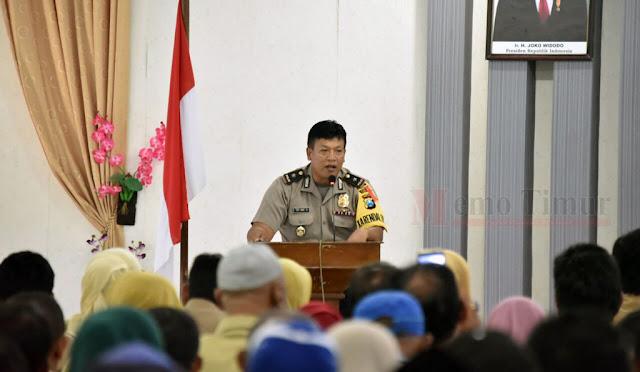 Kabag Ops Polres Lumajang, Kompol Eko Hari Suprapto, SH.