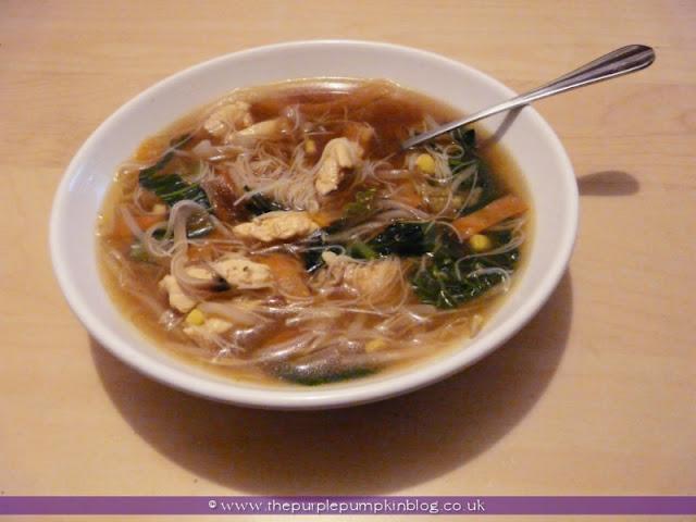 Chinese Chicken Stir-Fry Soup | The Purple Pumpkin Blog