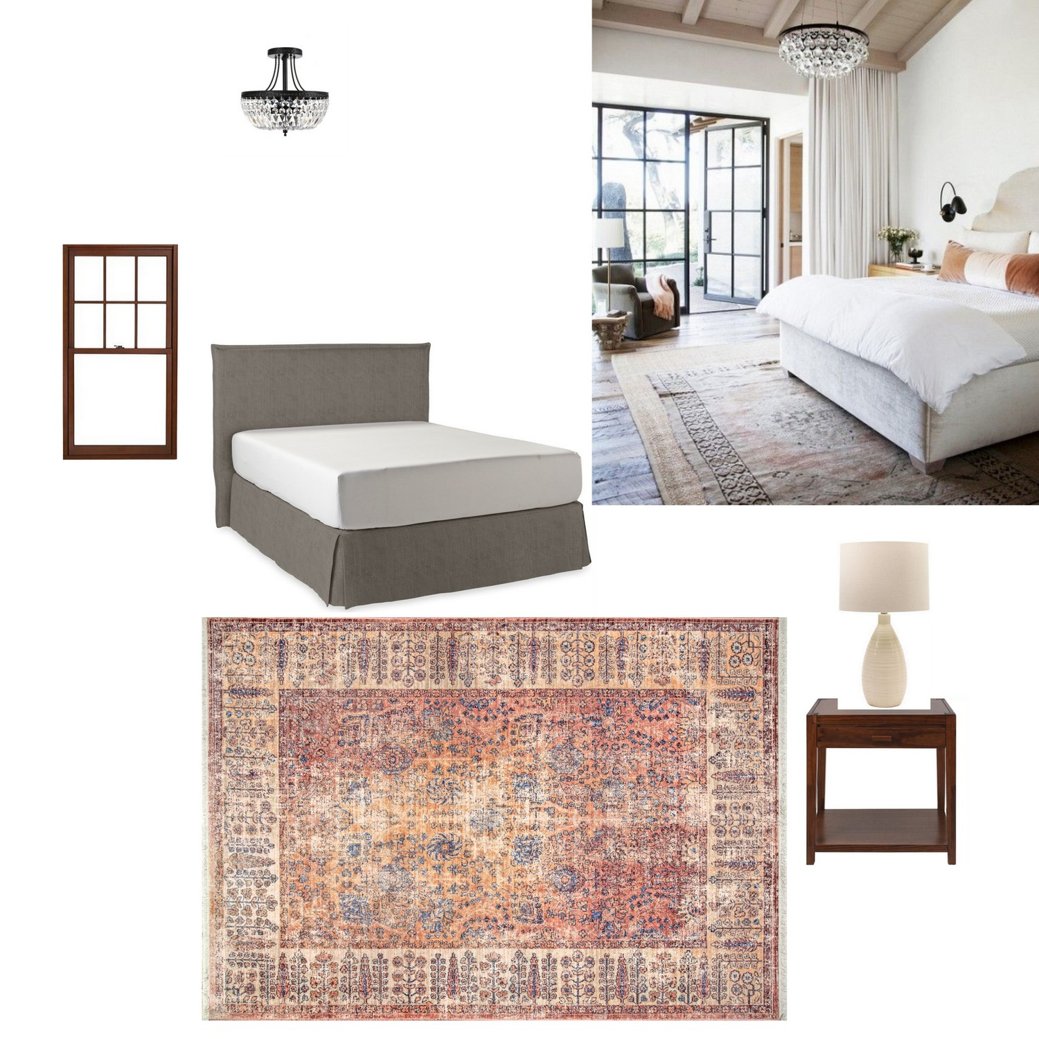 Master bedroom makeover before, inspiration, and plan: Week 1 of the ...