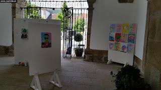 ART / Auto Retratos (Escola EB1 Castelo de Vide, 2.ºA), Paços do Concelho 2017, Castelo de Vide, Portugal