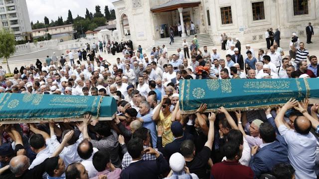 """Ο Ερντογάν και οι Καυκάσιοι """"συνεργάτες"""" του"""