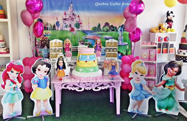 Festa Princesas Disney