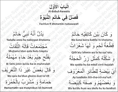 Tanda Kenabian Nabi Muhammad Rosululloh shallallahu 'alayhi wa sallam