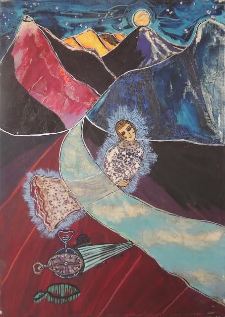 Sally Weintraub arte naíf surrealismo sueño