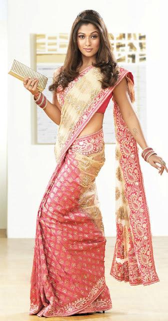 Nayantara Saree Collection Photo Shoot