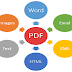 I will convert file pdf to other and other to pdf as your instruction.