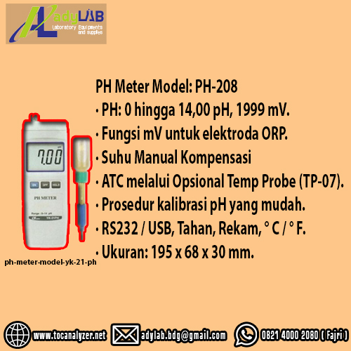 toko/distributor/agen/suplier/penjual  ph meter