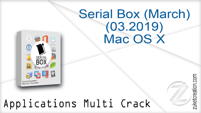 Serial Box (March) (03.2019) Mac OS X