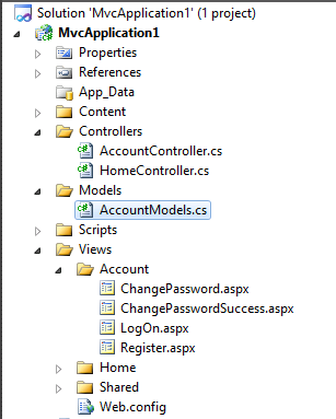 how to develop mvc application in asp net