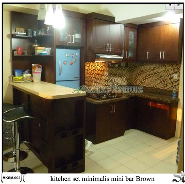 Kitchen Set Mini Bar Minimalis