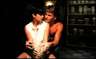 Demi Moore y Patrick Swayze en Ghost: más allá del amor (Jerry Zucker, 1990)