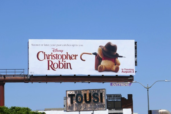 Christopher Robin movie billboard