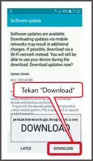 Download firmware pembaruan perangkat