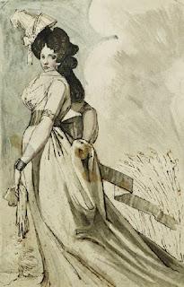 Фюсли Иоганн Генрих Henry Fuseli (1741 -1825) - Дама на прогулке