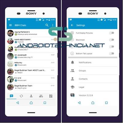 Download BBM Mod Official Versi 3.2.2.8 Apk Update Terbaru