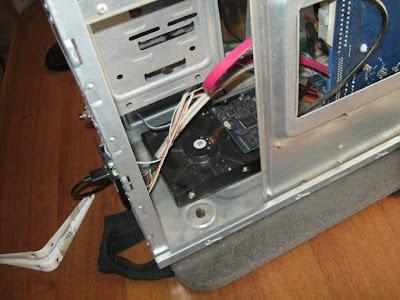 размещение HDD в корпусе