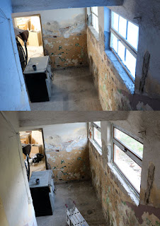 Before and after - much more light now