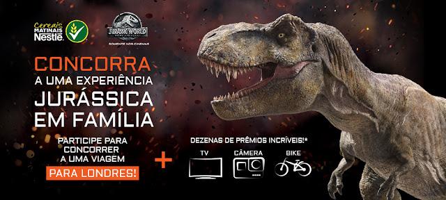 """Promoção: """"Jurassic World - Reino Ameaçado"""" Blog Top da Promoção #topdapromocao www.topdapromocao.com"""