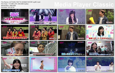 Download 150718 AKB48 SHOW! Ep 80 Subtitle Indonesia