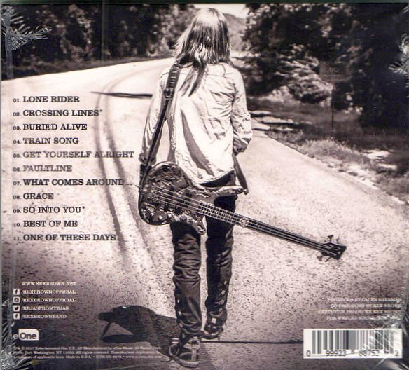 REX BROWN - Smoke On This... [Digipak] (2017) back