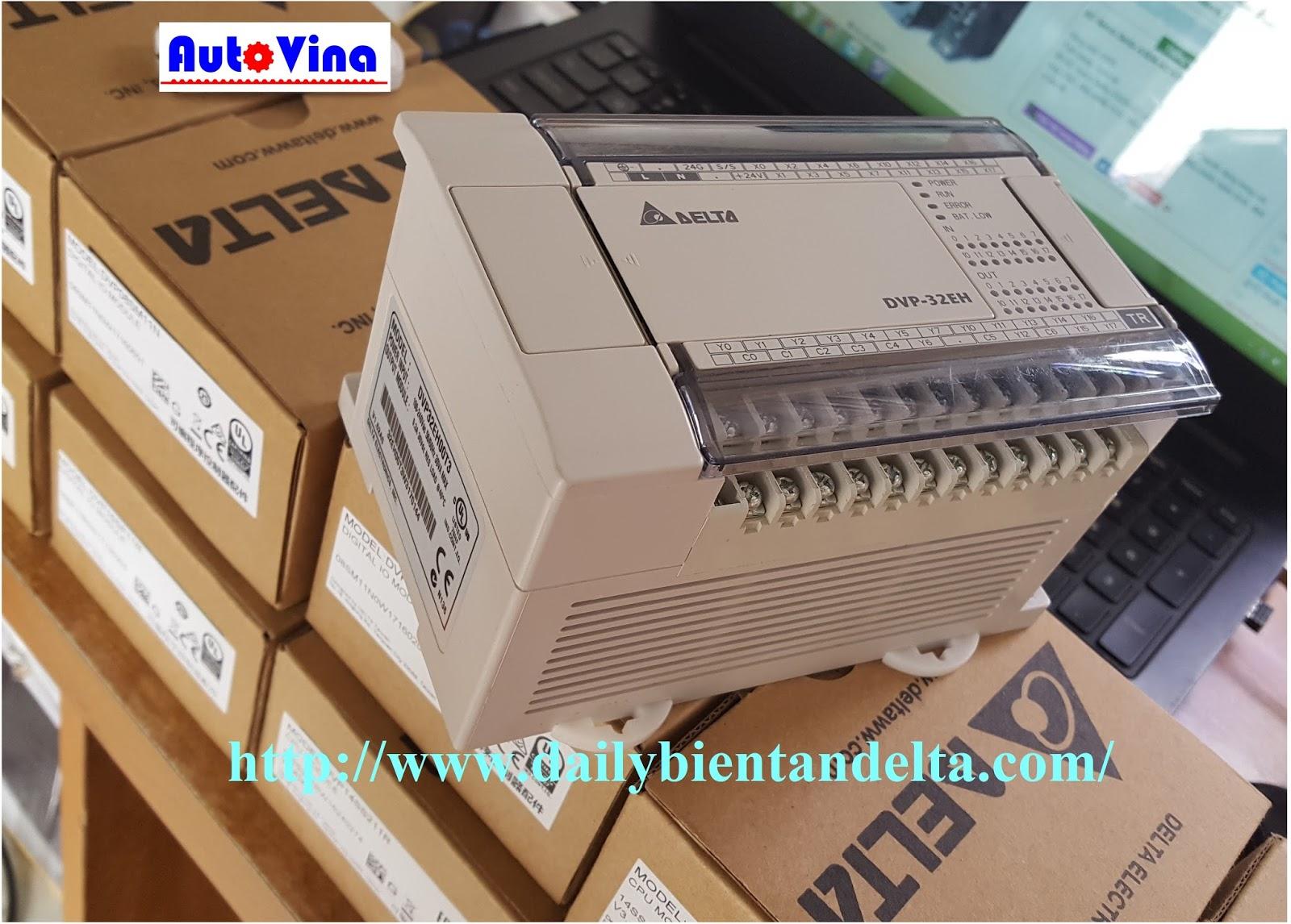 Đại lý bán, phân phối bộ điều khiển lập trình PLC Delta DVP32EH00T3