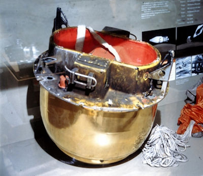 Film Bucket Return Capsule Used in Corona Satellites