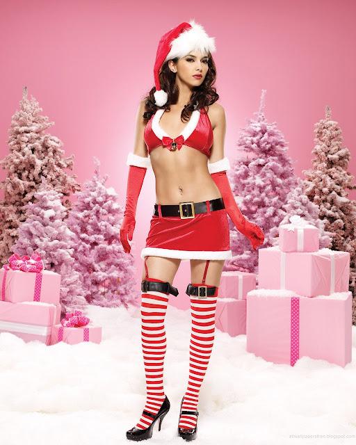 beautiful-and-slim-figure-santa-girl