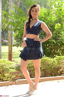 Seerat Kapoor Stunning Cute Beauty in Mini Skirt  Polka Dop Choli Top ~  Exclusive Galleries 026.jpg