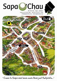 Mapa de Sapa.