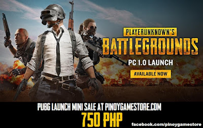 Pubg Philippines Sale Pinoy Game Store Online Gaming Store In
