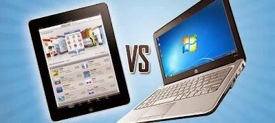 الفرق بين اللابتوب والآيباد Difference Between iPad