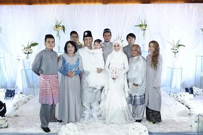 Foto Sekitar Majlis Akad Nikah & Resepsi Perkahwinan Akim - Stacy