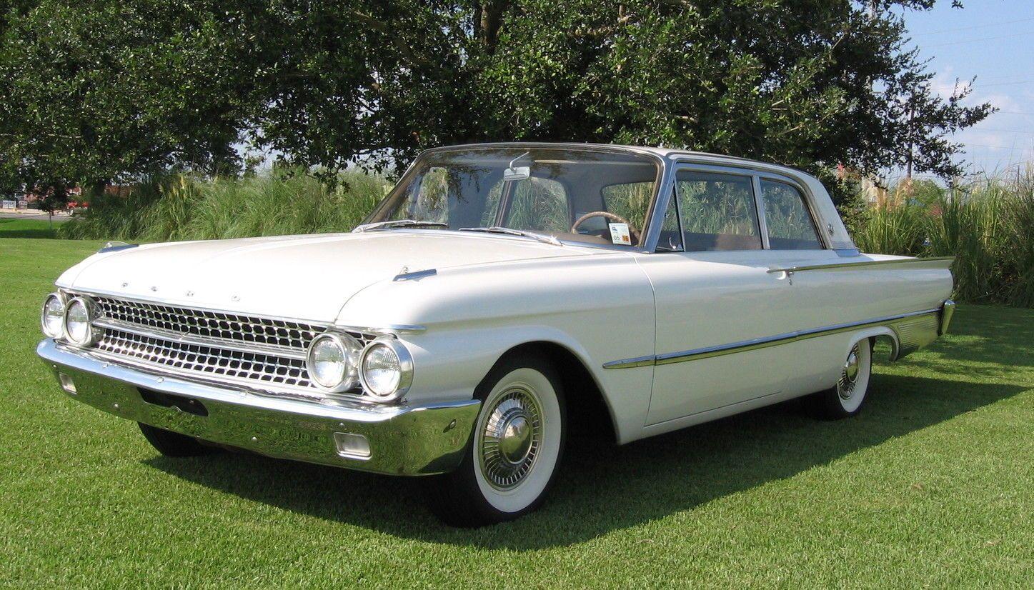 1955 Ford Fairlane Club Sedan 2 Door
