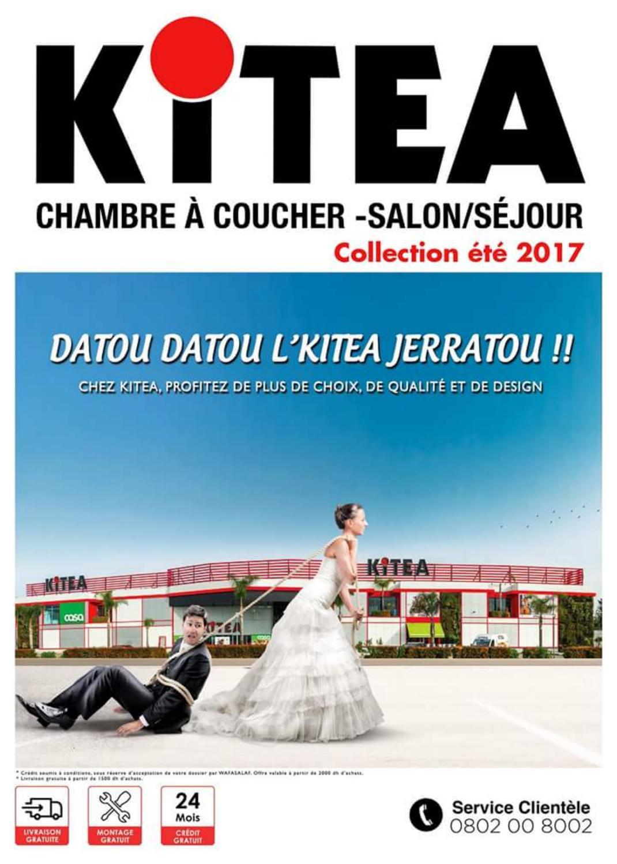 Catalogue kitea chambre coucher salon s jour t 2017 for Chambre a coucher kitea