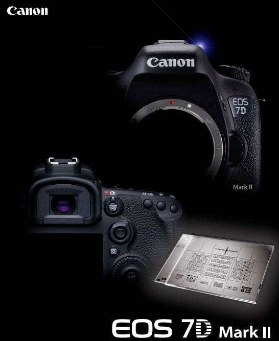 Canon EOS 7D Mark II DSLR AF-Settings Guidebook Download