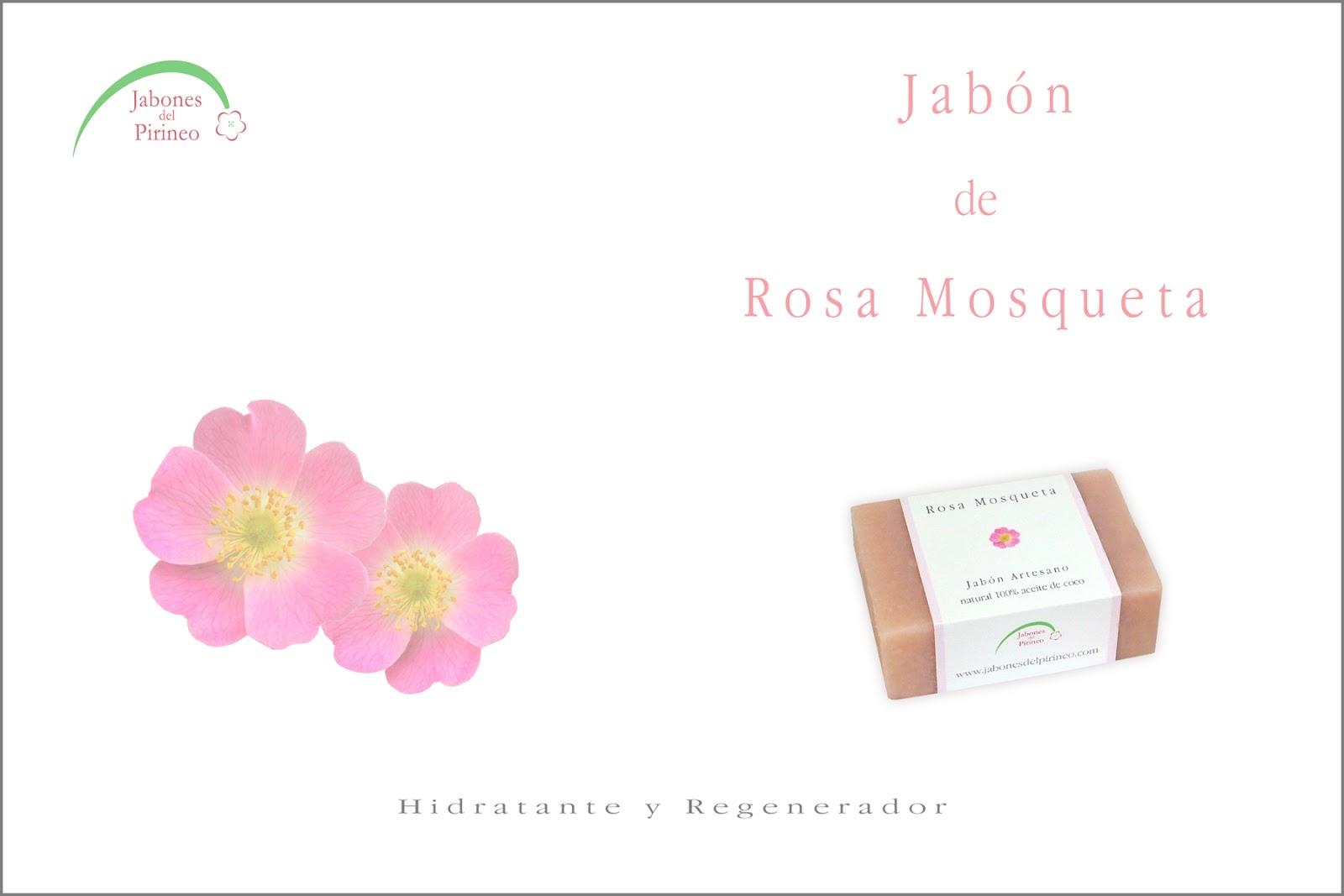 Jabón Natural de Rosa Mosqueta