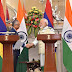 भारत व मॉरीशस ने किये पांच समझौतों पर हस्ताक्षर